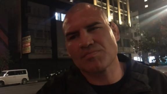 Velasquez sought advice from CM Punk about WWE