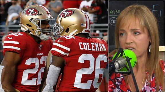 Bell: Breida, Coleman can both provide real fantasy value