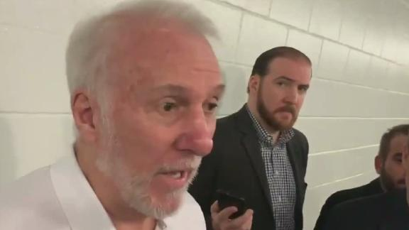 Popovich 'thrilled' with Silver's comments on China
