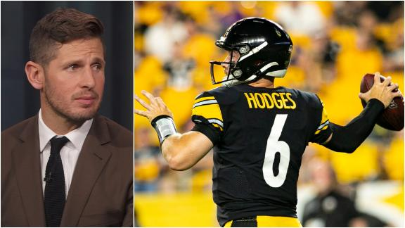 What does Hodges at QB mean for the Steelers?