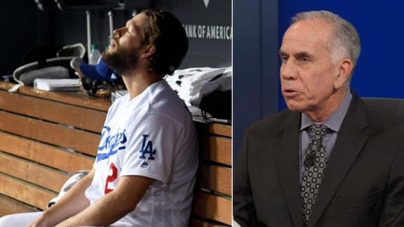 Kurkjian: Kershaw is 'clearly' not the same pitcher in October
