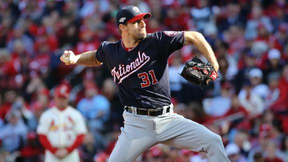 Scherzer fans 11, allows 1 hit in 7 innings