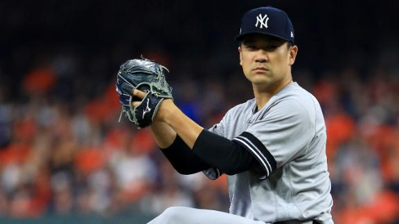 Tanaka silences Astros' bats with 6 scoreless innings