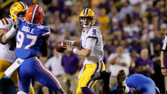 LSU takes over in second half to beat Florida