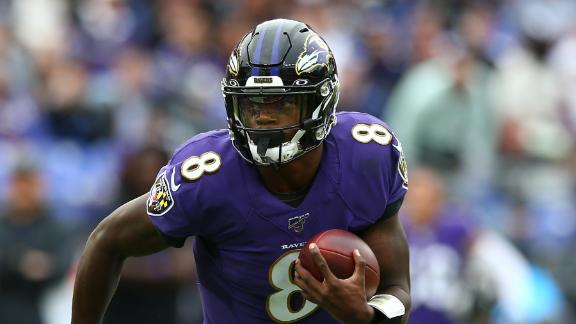 Jackson, Ravens run all over Bengals