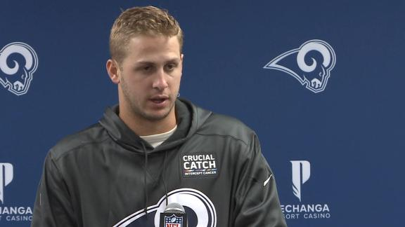 Goff says Rams need to fix offensive inconsistency