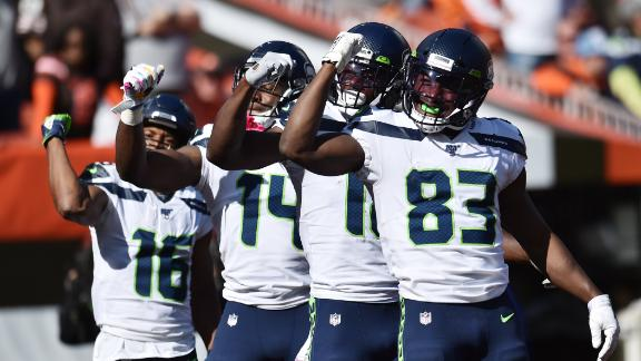 Seahawks celebrate TD with *NSYNC choreography