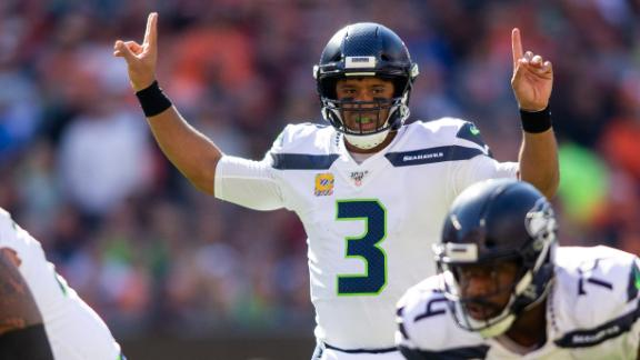 Wilson's 3 TDs power Seahawks past Browns