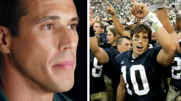 Brady Quinn writes letters to his grandfather during his last days