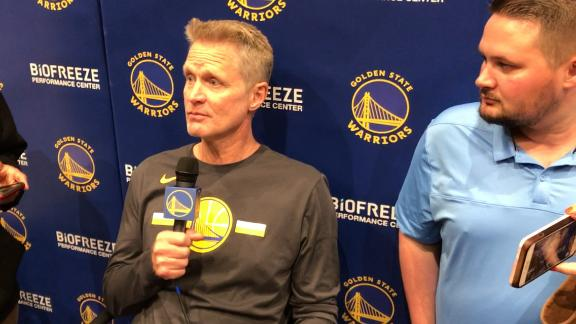 Kerr: Curry is at his peak physically and mentally
