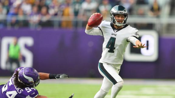 Eagles' fake FG attempt gets picked off