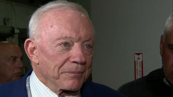 Jones: Cowboys aren't a top team right now