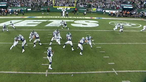 Prescott scores TD, can't convert game-tying 2-point try