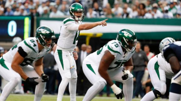 Darnold returns, leads Jets to first win