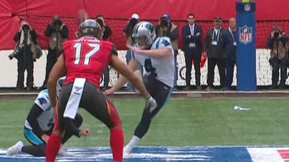 Panthers attempt rare 60-yard free-kick FG
