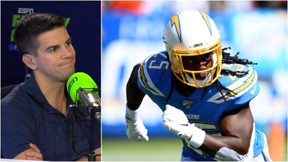 Yates and Berry losing confidence in Chargers' RBs