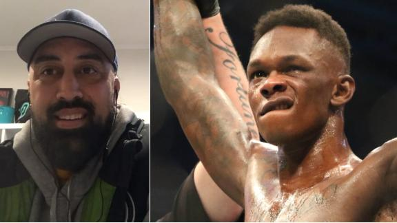Adesanya's coach initially told him to train elsewhere