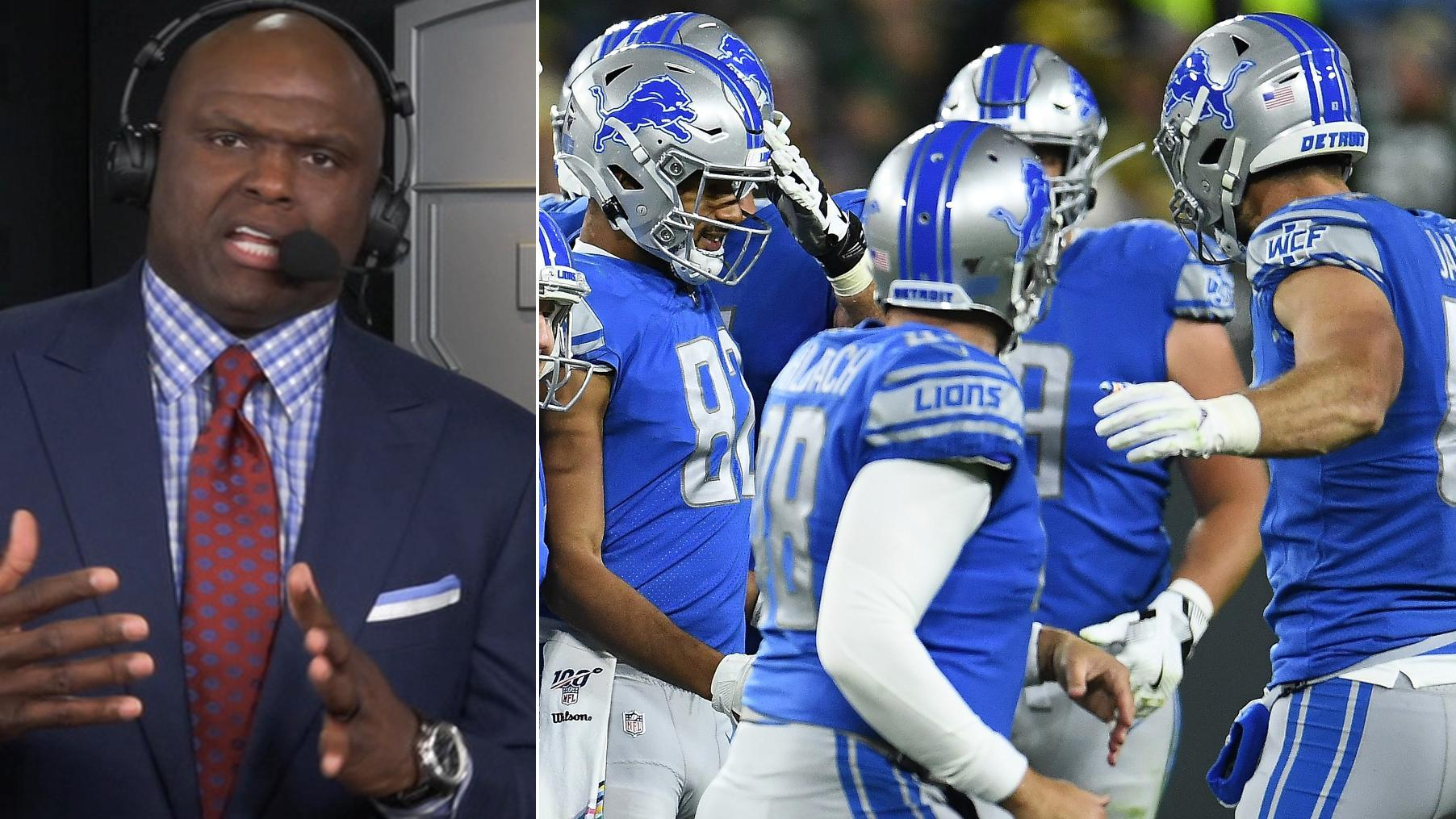 Booger: Lions will feel like the officials gave the game away