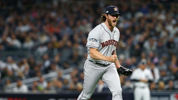Gerrit Cole shuts down the Yankees in Game 3