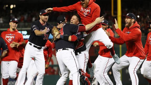Nationals clinch first World Series berth in franchise history