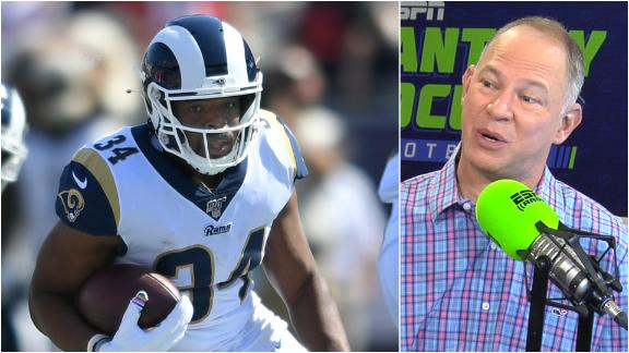 Brown's fantasy value hinges on Gurley's health