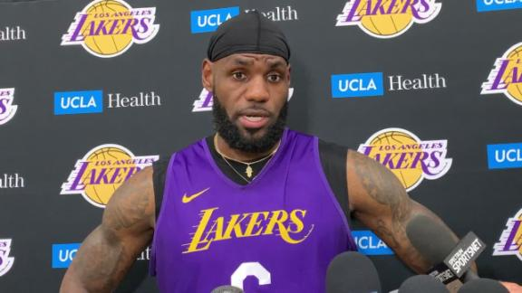 LeBron: I won't be talking about China situation again