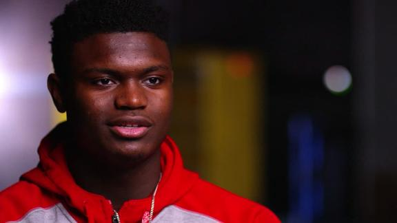 Zion's shares his journey from high school to the NBA
