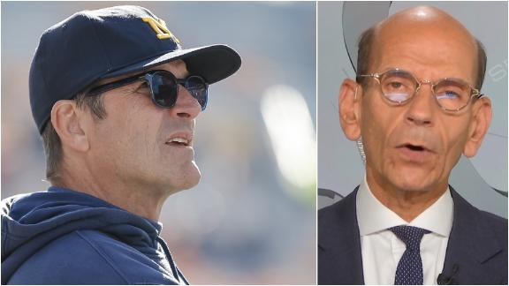 Finebaum: Next two games critical for Harbaugh at Michigan
