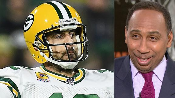 Stephen A.: Rodgers reminded everyone 'who the hell he was'