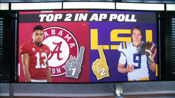 Tale of the Tape: Alabama vs. LSU