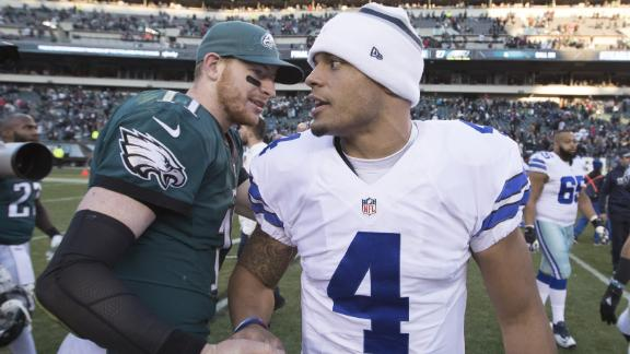 Which team should be more worried: the Eagles or Cowboys?
