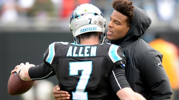 Are the Panthers better off with Cam Newton or Kyle Allen down the stretch?