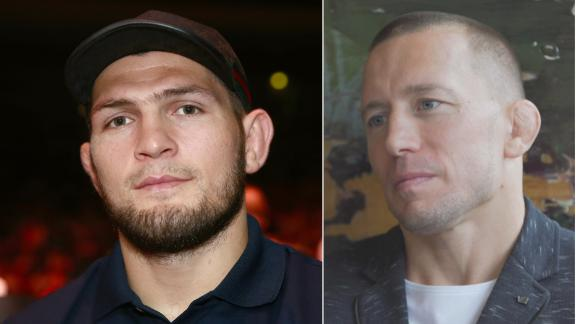 GSP: I'd come back to fight Khabib