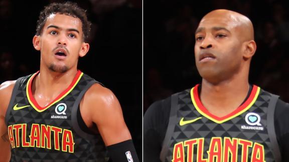 Young, Carter power Hawks to preseason win over Knicks