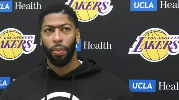 Davis on injury: Thumb feels good