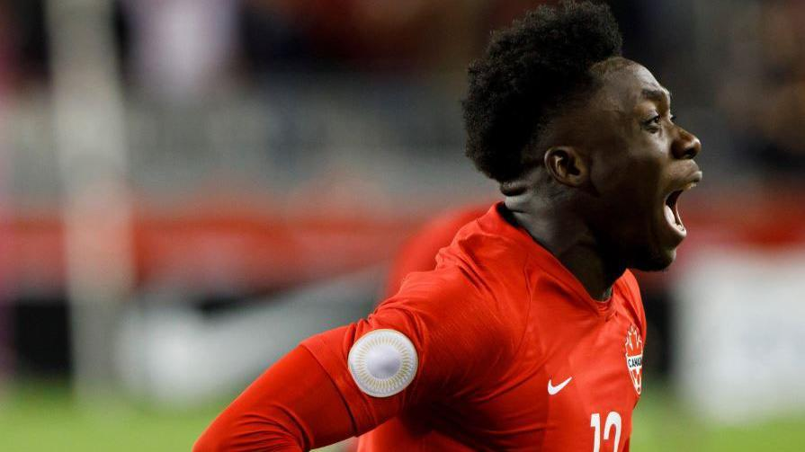 Alphonso Davies nets the breakthrough for Canada