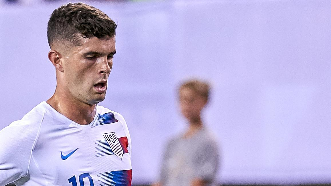Pulisic denied from point-blank range for U.S.