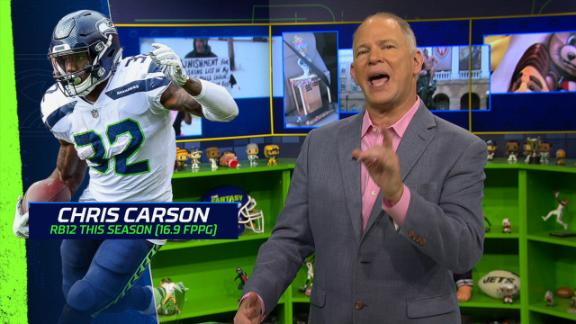 Berry loves Carson in Week 7