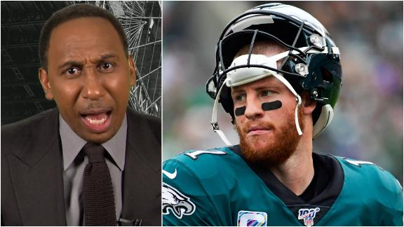 Stephen A. fired up about Eagles receivers struggles