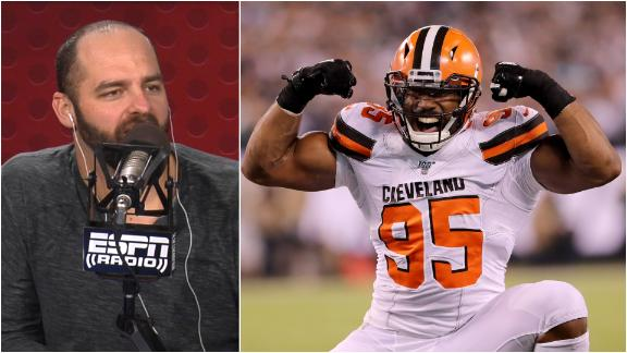 Golic Jr.: Thank God Myles Garrett is a kind soul