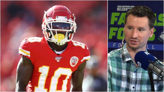 Which Chiefs WR steps up vs. Denver?