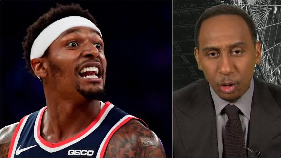 Stephen A. sends his condolences to Bradley Beal