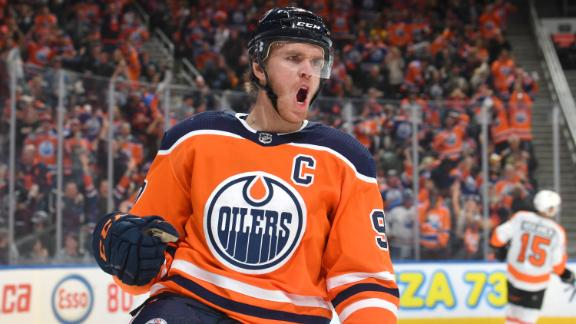 McDavid scores in 5-point game