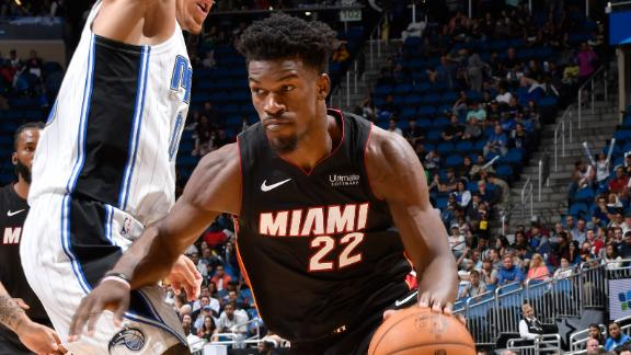 Butler drops 23 in Heat's preseason victory
