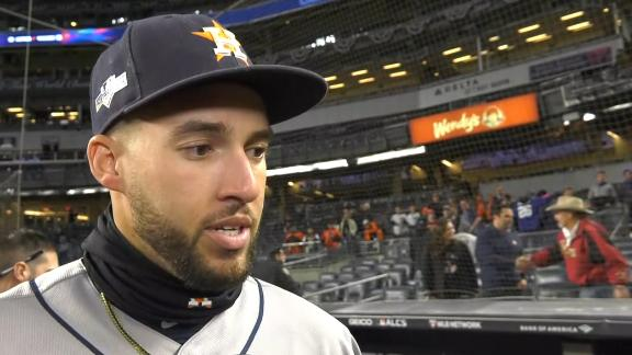 Springer on postseason success: This is why we play