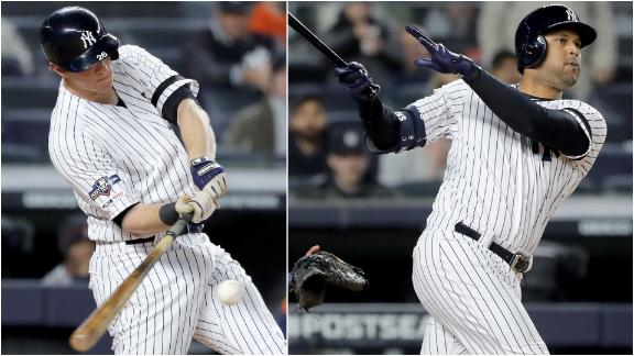 LeMahieu, Hicks hammer HRs off Verlander in 1st