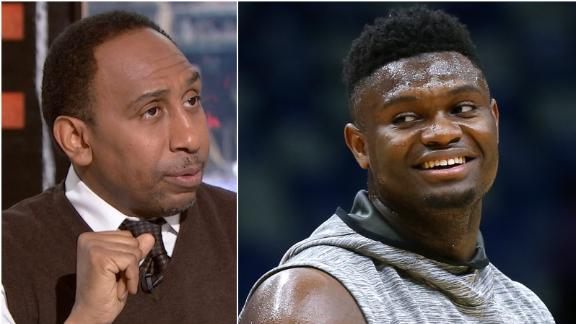 Stephen A.: Zion's injury a blow to the NBA
