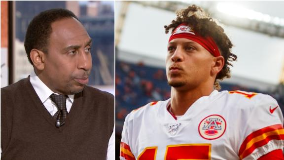 Stephen A. has a problem with Mahomes' QB sneak call