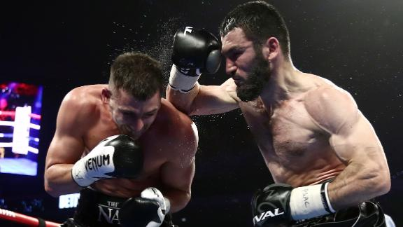 Beterbiev defeats Gvozdyk in thriller to unify belts