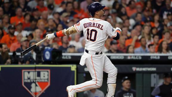Gurriel launches 3-run homer in 1st